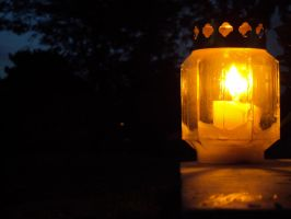 Lit Candle by dianerz817