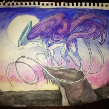 #245 Suicune by DudePotatoes