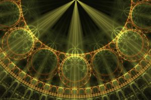 Green Rays Of Epispiral Energy by AkuraPare