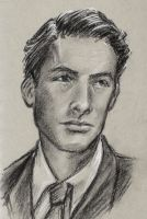 portrait practice - Gregory Peck by oboe-wan