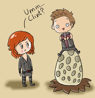 Umm, Clint? by CoralinePeach