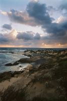 Rugged coast of Cape Leeuwin by wildplaces