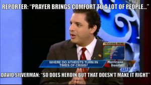 David Silverman on fox news, loved this quote. by helpfulme
