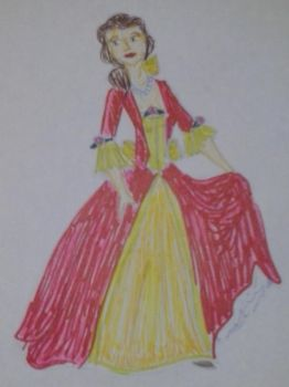 sketchy Belle by autumnrose83