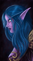 Night Elf by miriamuk21