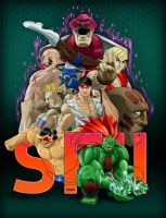 Street Fighter II Tribute by benscott81