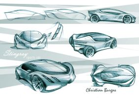 Stingray concept sketch 1 by kris-burgos