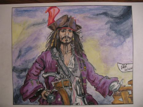jack sparrow by ced by diabolumberto