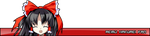 Reimu Userbar by Ariarin