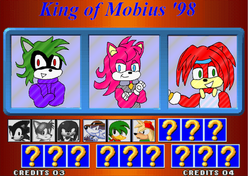King of Mobius '98 by mightydillo