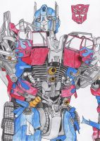 Optimus Prime by BlackTerrorsaur