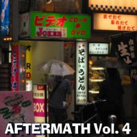 Aftermath! Vol. 4 mix tape cover by Don-O