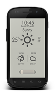Weather Lockscreen for android by marcarnal