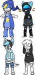 [OPEN] 4 dude adopts by sodabeks
