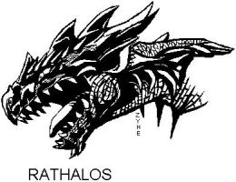 Rathalos by Killer-Beast