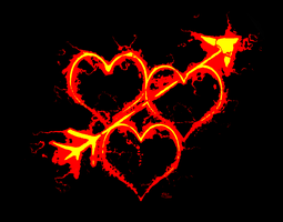Hearts on fire. by Art-Diversity