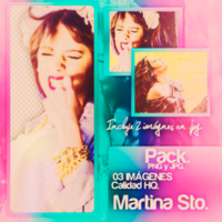 Pack de Martina Stoessel. by Lichu-editions