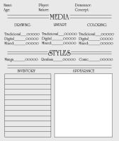 ID template by maluquinha
