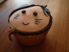 Ahri Cupcake-Braid Detail by Elliesmeria