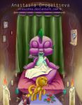 Spike: worshipping the Goddes by Stasushka