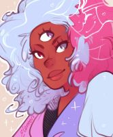 Cotton Candy Space Mom by Elentori
