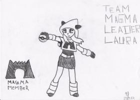 Team Magma Leader Laura by 07Erich