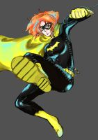 Batgirl by calciumandsugar