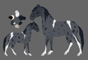 The Mare reference new colors by Citron--Vert