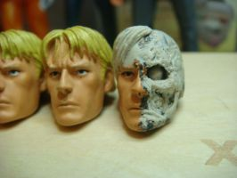 Two face sculpt by spawnsauce