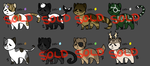 (OPEN) Cat Adoptables by AmayaAdoptions