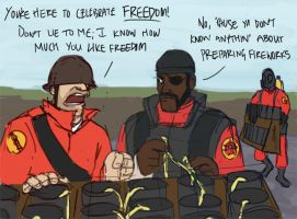 TF2 - Independence Day by ah-darnit