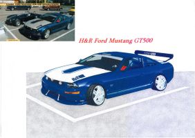 H+R Mustang with M.S. Paint by Stallnig