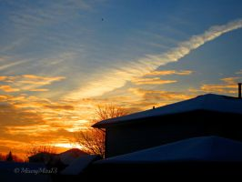 Winter Sunrise by Michies-Photographyy