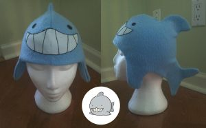Sharkball Hat by Chick-with-a-pencil