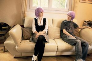 Crona Girl and Boy Cosplay by Sanatio