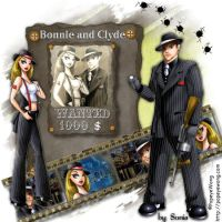 Bonnie and Clyde by CrazyFantasy71