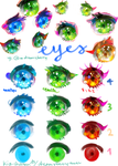 Eye steps by Kia-chaaan
