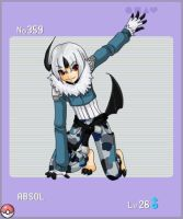 Pokemon Gijinka Project: Absol by MageKnight