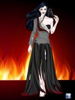 Rei Hino (Demented version) by cryatalmoon789
