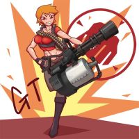 Tf2 Female Heavy by gotwin9008