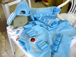 Nausicaa's Cosplay Process II by Witchiko