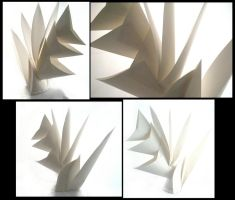 Paper Sculpture by aoiyoru