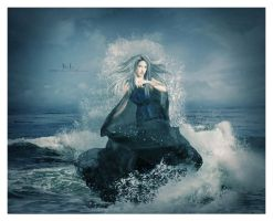 Dancing Upon The Waves by kedralynn