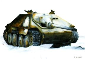 Hetzer - Death in Fire by Cune