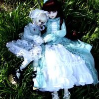 Rosary n Elilien - Vampiresses by lilly-dear