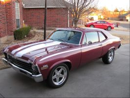 1970 Chevy Nova by ThexRealxBanks