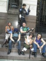 re cosplay team by Chris--Redfield