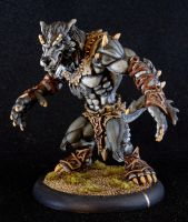 Circle of Orboros Feral Warpwolf by StudioSFS