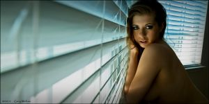 Jessi at the window again by Gary-Melton