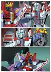 Starscreams Realm Page 5 colored by shatteredglasscomic